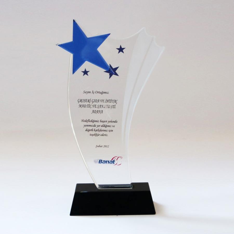2012 Yılında Banat firması ile firmamızın gerçekleştirdiği güzel işbirliklerine istinaden teşekkür plaketi